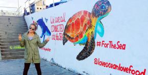 La surfeuse et artiste Felicity « Flick » Palmateer, ambassadrice MSC pour lesocéans